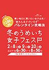 2017年 2月 阪神百貨店うめいち女子フェス!